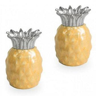 Julia Knight Saffron Pineapple Salt & Pepper Set