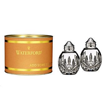 Waterford Lismore Round Salt & Pepper Set