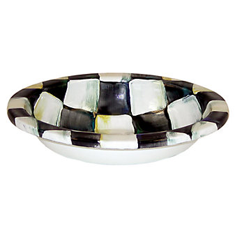 Mackenzie Childs Courtly Check Soap Dish