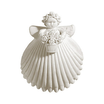 "Margaret Furlong Flower Basket 2"" Angel"