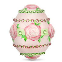 Patricia_Breen_Little_Egg_Jeweled_Striping_and_Roses_(2013)