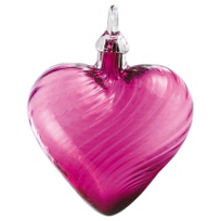 Glass_Purple_Twist_Classic_Heart_Ornament