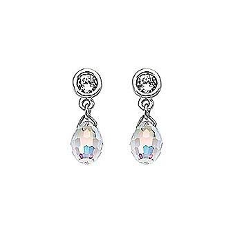 Swarovski Aurora Borealis Pierced Earrings