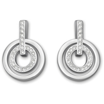 Swarovski_Mini_Circle_Pierced_Earrings_