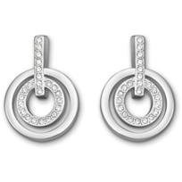Swarovski_Mini_Circle_Pierced_Earrings_