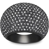 Swarovski_Stone_Jet_Hematite_Ring,_Small