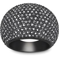 Swarovski_Stone_Jet_Hematite_Ring,_Large