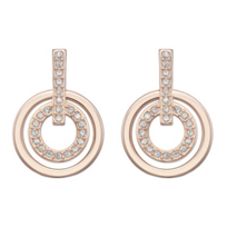 Swarovski_Rose_Gold-Plated_Circle_Mini_Pierced_Earrings