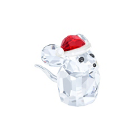 Swarovski_Mouse_with_Santa's_Hat