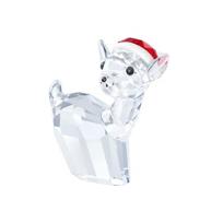 Swarovski_Doe_with_Santa's_Hat