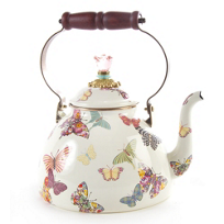 MacKenzie-Childs_Butterfly_Garden_White_3_Quart_Tea_Kettle