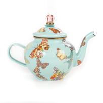 MacKenzie-Childs_Sky_Butterfly_Garden_Teapot,_4_Cup