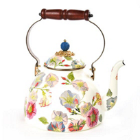 MacKenzie-Childs_Morning_Glory_Tea_Kettle_-_3_Quart