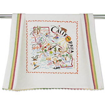 Catstudio California Dish Towel