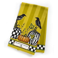 MacKenzie-Childs_Talking_Crows_Dish_Towel