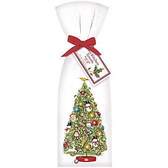 Mary Lake-Thompson Christmas Tree Vintage Towel Set