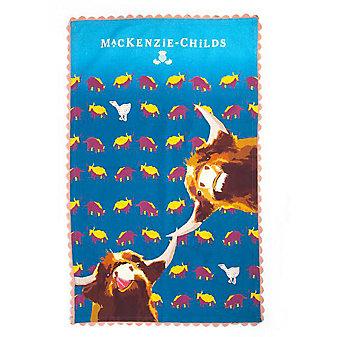 MacKenzie-Childs Divine Bovine Tea Towel