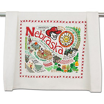University of Nebraska Dish Towel