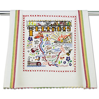 Catstudio Illinois Dish Towel