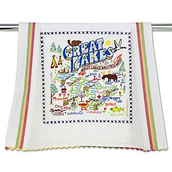 Catstudio Great Lakes Dish Towel