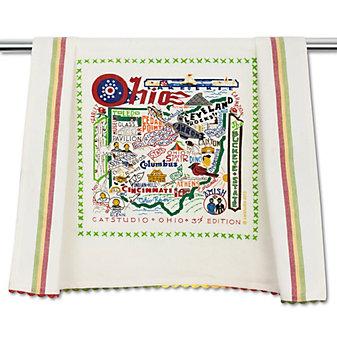Catstudio Ohio Dish Towel