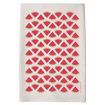 coast & cotton farm & table watermelon hand towel