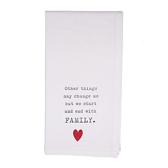 HONESTLY GOODS THINGS MAY CHANGE TOWEL