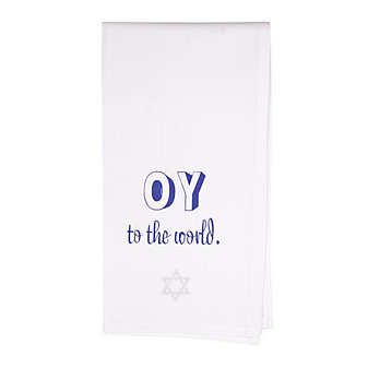 HONESTLY GOODS OY TO THE WORLD TOWEL