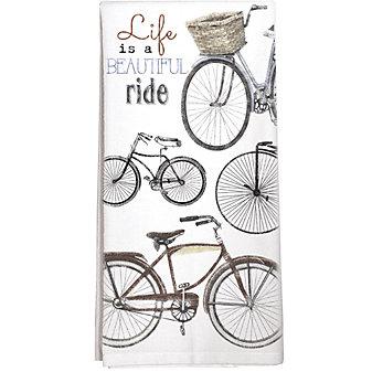 mary lake-thompson bike collage towel