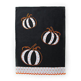 mackenzie-childs pumpkin dish towel