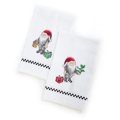 mackenzie-childs elf guest towels, set of 2