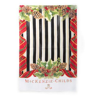 mackenzie-childs highland dish towel