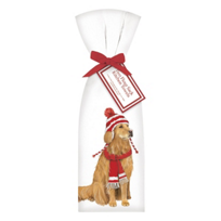 mary_lake-thompson_golden_retriever_with_hat_towel_set