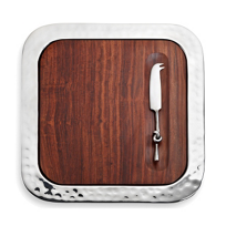 Mary_Jurek_Sierra_Square_Serving_Tray_with_Wood_Insert_and_Cheese_Knife