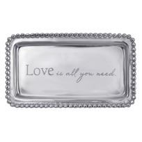 "Mariposa_Love_Is_All_You_Need_Tray,_6.75""_L_x_3.75""_W"