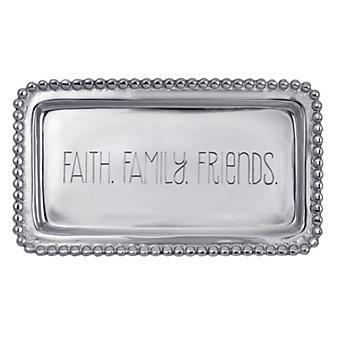 Mariposa Faith Family Friends Tray