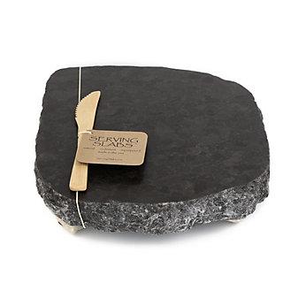 Serving Slabs Black and White Granite