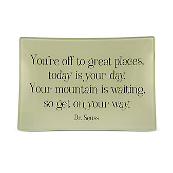 Ben's Garden You're Off to Great Places Tray