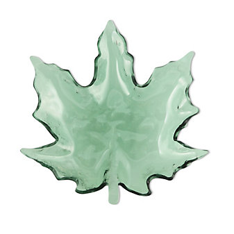 Annieglass Maple Leaf, Medium