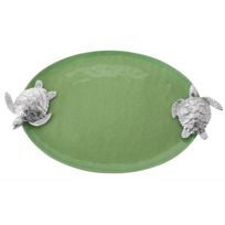 Mariposa_Sea_Turtle_Handled_Green_Serving_Tray