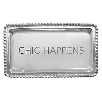 Mariposa Chic Happens Tray