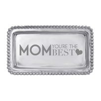 "Mariposa_""Mom,_You're_the_Best""_Tray"