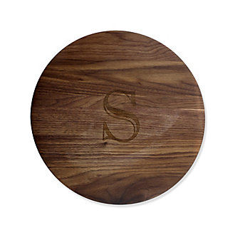 """Maple Leaf at Home Lazy Susan, """"S"""""""