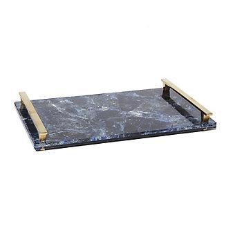 Kendra Scott Stone Slab Tray Blue Soladite 10X16