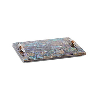 kendra scott small tray in crackle abalone shell