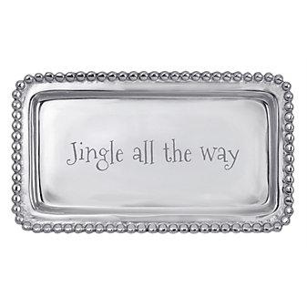 mariposa jingle all the way tray
