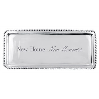"mariposa ""new home, new memories"" tray"