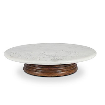 """gg collection 16"""" marble lazy susan"""