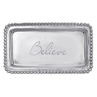 "Mariposa ""Believe"" Simply Statement Tray"