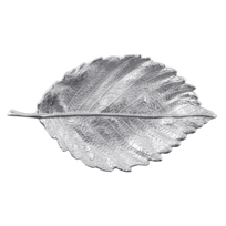 "Mariposa_Medium_Leaf_Server_Satin,_13.5""L_X_7.5""W_"